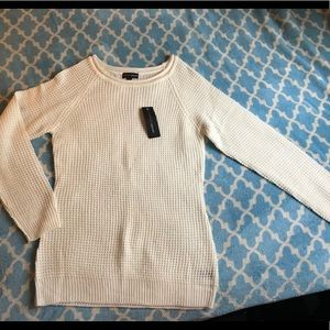 Off white knit sweater